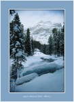 Jasper Snow Scene